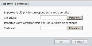 certificat sur un NAS SYNOLOGY