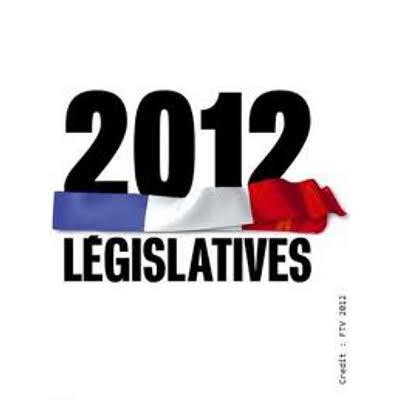 Premieres estimations et publication des résultats du 2° tour des élections législatives françaises du 17 juin 2012