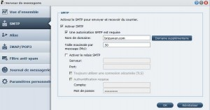 Serveur messagerie synology