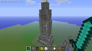 Empire State Building à New York avec Minecraft