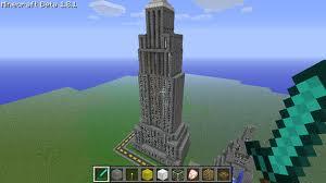 Empire State Building avec Minecraft