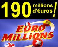 Euromilion - 190 millions d'euros