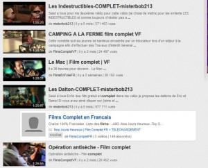 Films complets sur youtube
