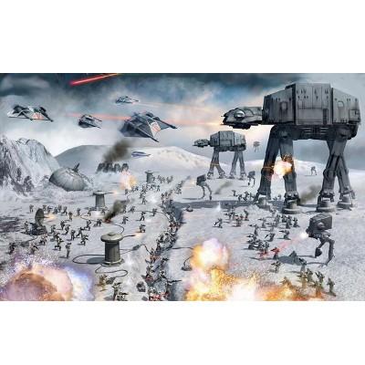 Minecraft : La bataille de Hoth de l'Empire Contre Attaque (Star Wars) sous Minecraft