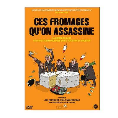 Censure – Ces fromages qu'on assassine, reportage animé  par Périco Légasse