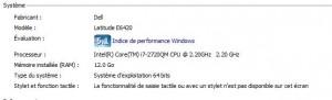 Informations système de Windows