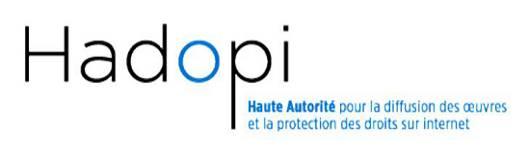 Logo Hadopi en bandeau