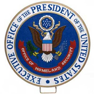 executive office of the president plaque - FBI