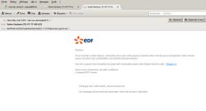 Mail / Spam edf